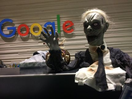 ghoulish Google ready for Halloween